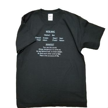 MANIFEST T-shirts Black