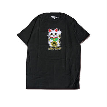 クラインindustries Silk Screened Unlucky Cat T-shirts