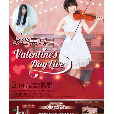 水谷美月バレンタインLiveチケット