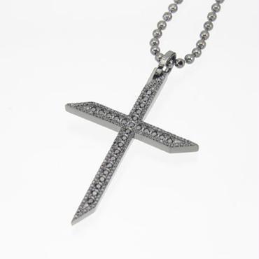 エムジェー[m.J][正規販売店][ペンダント][pendant][MJP-03BCZB]ルミエールクロスペンダント