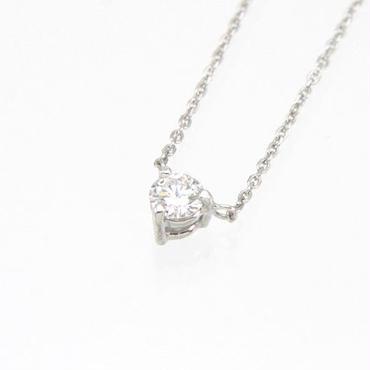 エムジェー[m.J][正規販売店][ネックレス][necklace][MJPN-08WGD]1ダイヤネックレスw/18Kホワイトゴールド ダイヤモンド