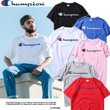 チャンピオン champion  ステッチング ビックロゴ サイジング Tシャツ メンズ ジャパン・チャンピオンのゴッホのtシャツ