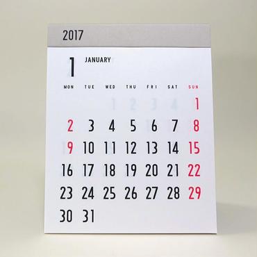2017 カレンダー (卓上)
