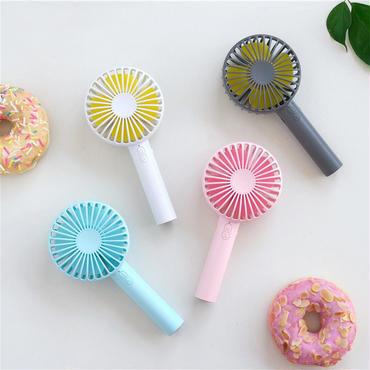 手持ち扇風機  化粧ミラ 可愛い ♪ Mini Fan