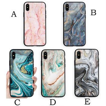 【M806】★ iPhone 6 / 6s / 6Plus / 6sPlus / 7 / 7Plus / 8 / 8Plus / X ★ シェルカバーケース マーブル New