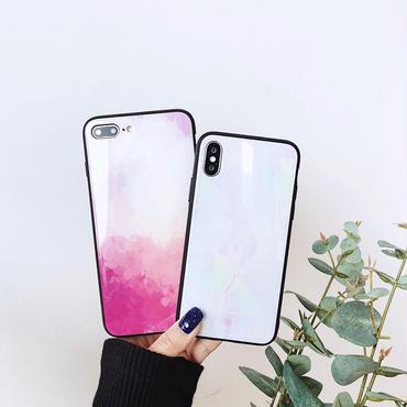 【M533】♡ iPhone 6 / 6s /6Plus / 6sPlus / 7 / 7Plus / 8 / 8Plus / X ケース ペイント風カラフルおしゃれ