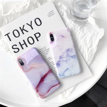 【M617】★ iPhone 6 / 6s / 6Plus / 6sPlus / 7 / 7Plus / 8 / 8Plus / X ★ シェルカバーケース Colorful Marble