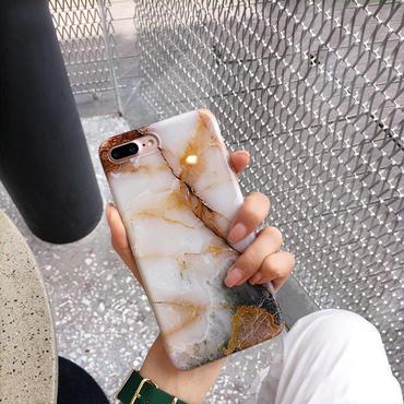【M729】★ iPhone 6 / 6s / 6Plus / 6sPlus / 7 / 7Plus / 8 / 8Plus / X ★ シェルカバー ケース MARBLE Phone CASE