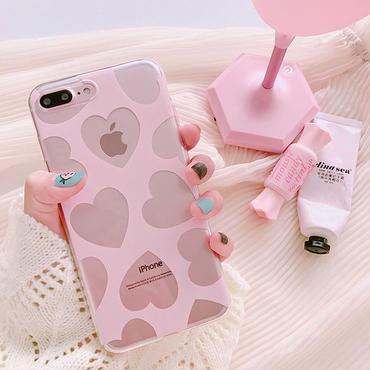 [M313] ★ iPhone 6 / 6s / 6Plus / 6sPlus / 7 / 7Plus / 8 / 8Plus / X ★ Love Hearts iPhone ケース ハート人気