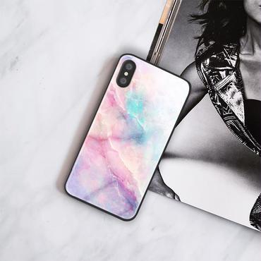 【M735】★ iPhone 6 / 6s / 6Plus / 6sPlus / 7 / 7Plus / 8 / 8Plus / X ★ シェルカバー ケース Pink Marble Case