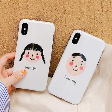 【M925】★ iPhone 6 / 6s / 6Plus / 6sPlus / 7 / 7Plus / 8 / 8Plus / X /XS★ シェルカバーケース  Girls Friends