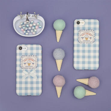 【M863】★ iPhone 6 / 6s / 6Plus / 6sPlus / 7 / 7Plus / 8 / 8Plus / X ★ シェルカバーケース Lace Cookies