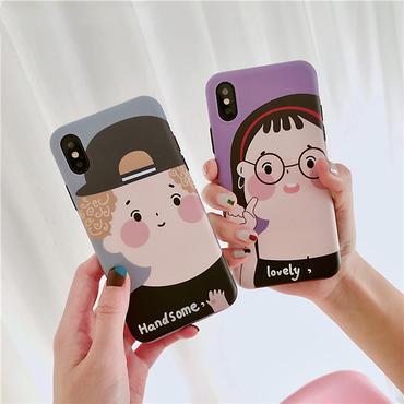 【M601】★ iPhone 6 / 6s / 6Plus / 6sPlus / 7 / 7Plus / 8 / 8Plus / X ★ シェルカバーケース Summer Boy Girl