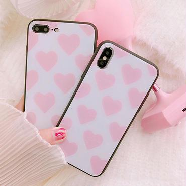 [MD337] ★ iPhone 6 / 6s / 6Plus / 6sPlus / 7 / 7Plus / 8 / 8Plus / X ★ iPhone Heart ケース ハート プチ 可愛い