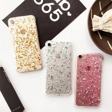 【M547】★ iPhone 6 / 6s / 6Plus / 6sPlus / 7 / 7Plus / 8 / 8Plus / X ★ シェルカバー ケース キラキラ Glitter Style