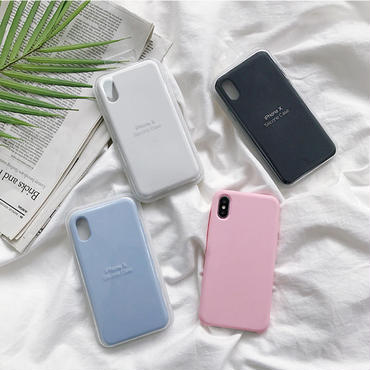 【M528】♡ iPhone 6 / 6s /6Plus / 6sPlus / 7 / 7Plus / 8 / 8Plus / X iPhoneケース Solid Colorおしゃれ シンプル