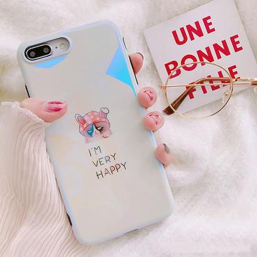 【M326】★ iPhone6 / 6Plus /6s /6sPlus /7/ 7Plus/ 8 / 8Plus /X ★ Angry Happy Cat iPhone Case ケース 子猫 可愛い