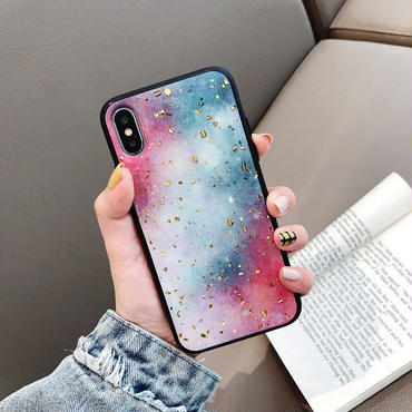 【M289】★ iPhone 6 / 6sPlus / 7 / 7Plus / 8 / 8Plus / X /XS /XR/Xs max★ シェルカバーケース GALAXY SKY