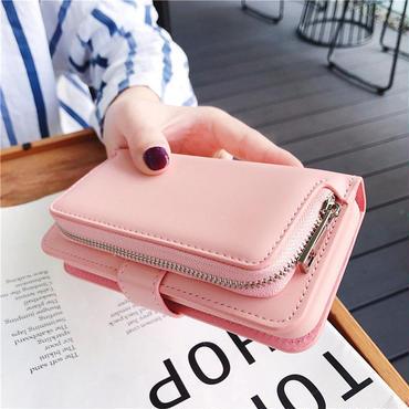 [MD330] ★ iPhone 6/6s/6Plus 6sPlus/7/7Plus/8/8Plus/ X ★ 手帳型 ケース ボックス型 カードケース ウォレット 可愛い 便利