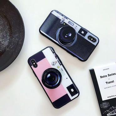 【M727】★ iPhone 6 / 6s / 6Plus / 6sPlus / 7 / 7Plus / 8 / 8Plus / X ★ シェルカバー ケース Camera Stander Ring