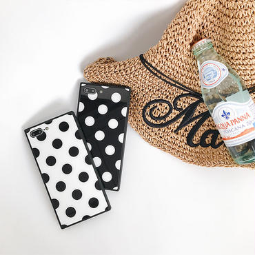 【M529】♡ iPhone 6 / 6s /6Plus / 6sPlus / 7 / 7Plus / 8 / 8Plus / X iPhoneケース Polka Dots おしゃれ