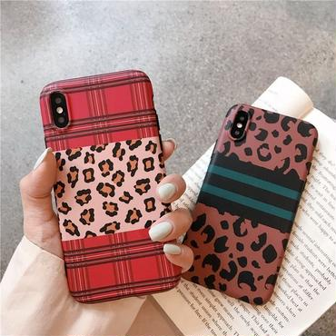 【M152】★ iPhone 6s / 6sPlus / 7 / 7Plus / 8 / 8Plus / X / Xs / Xr /Xsmax★ シェルカバーケース チェック