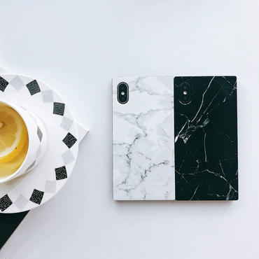 【M543】★ iPhone 6 / 6s / 6Plus / 6sPlus / 7 / 7Plus / 8 / 8Plus / X ★ シェルカバー ケース マーブル模様のiPhone Case