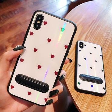 【M225】★ iPhone 6s / 6sPlus / 7 / 7Plus / 8 / 8Plus / X / Xs / Xr /Xsmax★ シェルカバーケース ハート♥‿♥
