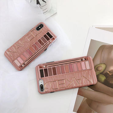 【N161】★ iPhone 6 / 6sPlus / 7 / 7Plus / 8 / 8Plus / X/ XS / Xr /Xsmax ★ シェルカバース Make Up Case