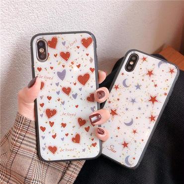 【N103】★ iPhone 6 / 6sPlus / 7 / 7Plus / 8 / 8Plus / X /XS /XR/Xs max★ シェルカバーケースlove star 🌟