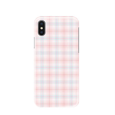 【M861】★ iPhone 6 / 6s / 6Plus / 6sPlus / 7 / 7Plus / 8 / 8Plus / X ★ シェルカバー ケース plaid design 可愛い