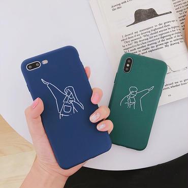 【M945】★ iPhone 6 / 6s / 6Plus / 6sPlus / 7 / 7Plus / 8 / 8Plus / X/XS ★ シェルカバー ケースCouple case