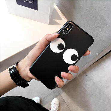 【M810】★ iPhone 6 / 6s / 6Plus / 6sPlus / 7 / 7Plus / 8 / 8Plus / X ★ シェルカバー ケース Big Eyes Case