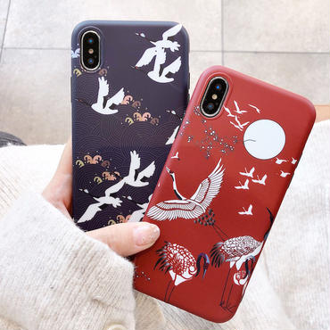【M123】★ iPhone 6 / 6s / 6Plus / 6sPlus / 7 / 7Plus / 8 / 8Plus / X/XS ★ シェルカバー ケース Autumn
