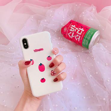 【M725】★ iPhone 6 / 6s / 6Plus / 6sPlus / 7 / 7Plus / 8 / 8Plus / X ★ シェルカバー ケース tomato