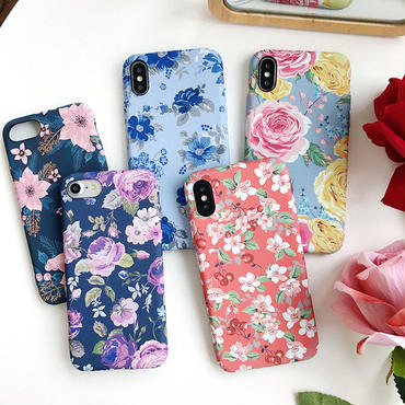 【M864】★ iPhone6 / 6Plus / 6s / 6sPlus / 7 / 7Plus/ 8 / 8Plus / X  ★Flower Case iPhoneケース  綺麗な花 好きだ