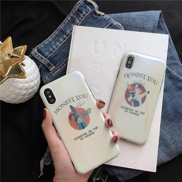 【M618】★ iPhone 6 / 6s / 6Plus / 6sPlus / 7 / 7Plus / 8 / 8Plus / X ★ シェルカバーケース  Rabbit お洒落