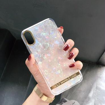 【M417】★ iPhone 6 / 6s /6Plus / 6sPlus / 7 / 7Plus / 8 / 8Plus / X ★ シェルカバー ケース キラキラ 綺麗 可愛い