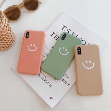 【N172】★ iPhone 6 / 6s / 6Plus / 6sPlus / 7 / 7Plus / 8 / 8Plus / X/XS ★ シェルカバー ケース Smile Day