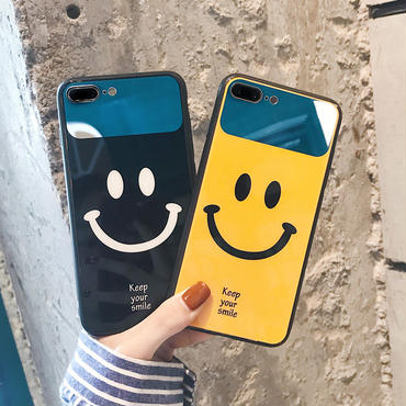 【M879】★ iPhone 6 / 6s / 6Plus / 6sPlus / 7 / 7Plus / 8 / 8Plus / X ★ シェルカバー ケース keep your smile