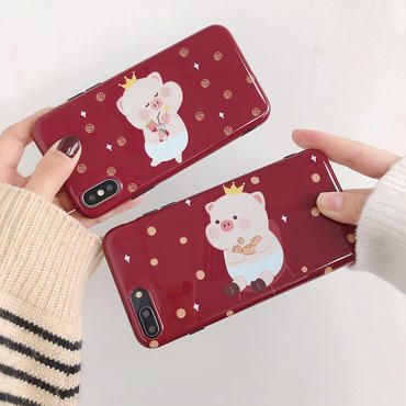 【M266】★ iPhone 6s / 6sPlus / 7 / 7Plus / 8 / 8Plus / X / Xs / Xr /Xsmax★ シェルカバーケース ILove
