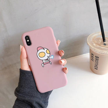 【M135】★ iPhone 6 / 6sPlus / 7 / 7Plus / 8 / 8Plus / X/XS/XR/Xs Max ★ シェルカバーケース Cute in Pink