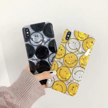 【N136】★ iPhone 6 / 6sPlus / 7 / 7Plus / 8 / 8Plus / X/XS / Xr /Xsmax ★ シェルカバー ケース  Smile Baby