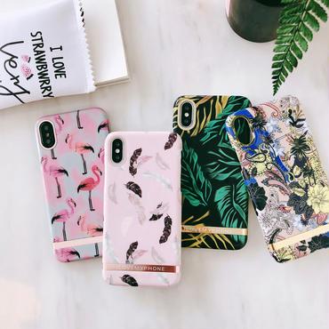 【M537】♡ iPhone 6 / 6s /6Plus / 6sPlus / 7 / 7Plus / 8 / 8Plus / X ♡ シェルカバー ケース サマースタイルお洒落