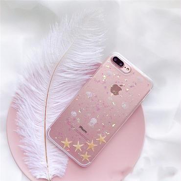 [M346]★ iPhone 6 / 6s / 6Plus / 6sPlus / 7 / 7Plus / 8 / 8Plus / X ★ Clear iPhone  ピンク クリア 可愛い