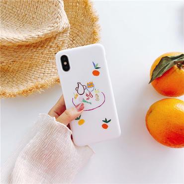 【M521】♡ iPhone 6 / 6s /6Plus / 6sPlus / 7 / 7Plus / 8 / 8Plus / X ♡ シェルカバー ケース RELAX TIME