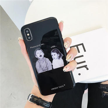 【M880】★ iPhone 6 / 6s / 6Plus / 6sPlus / 7 / 7Plus / 8 / 8Plus / X ★ シェルカバー ケース please pick me