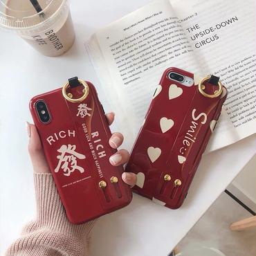 【M151】★ iPhone 6s / 6sPlus / 7 / 7Plus / 8 / 8Plus / X / Xs / Xr /Xsmax★ シェルカバーケース Rich and Smile