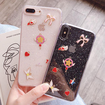 【M628】★ iPhone 6 / 6s / 6Plus / 6sPlus / 7 / 7Plus / 8 / 8Plus / X ★ シェルカバー ケース  女子カ up  ICON