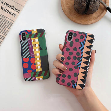 【M738】★ iPhone 6 / 6s / 6Plus / 6sPlus / 7 / 7Plus / 8 / 8Plus / X ★ シェルカバー ケース 芸術的なスタイル